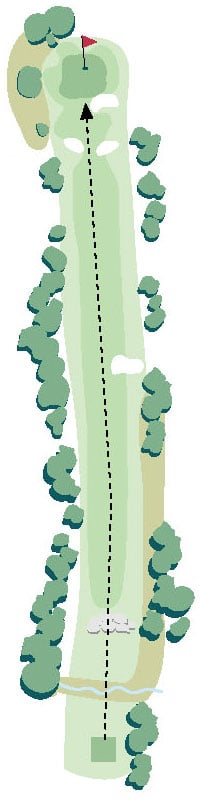 Brickyard Golf Hole No. 9