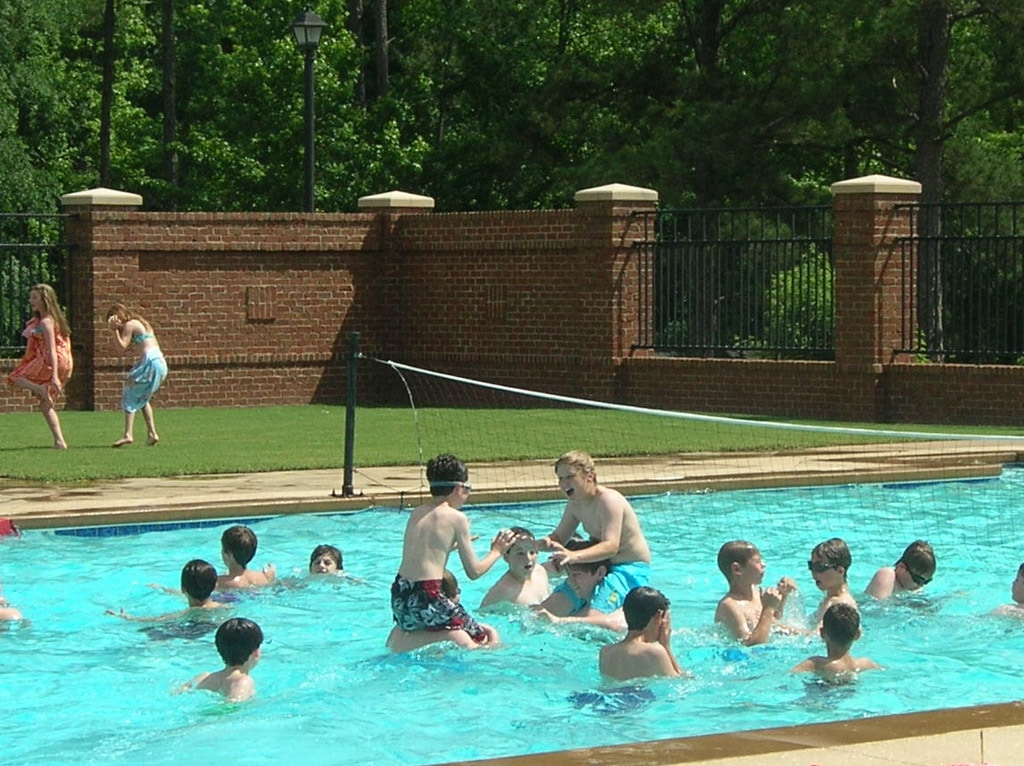 Enjoy the Brickyard Pool!