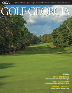 Golf Georgia - May/June 2018