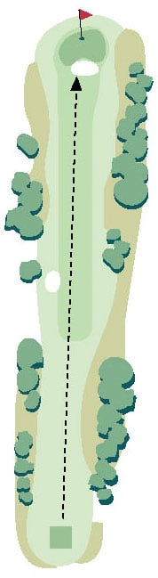 Brickyard Golf Hole No. 15