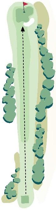 Brickyard Golf Hole No. 3