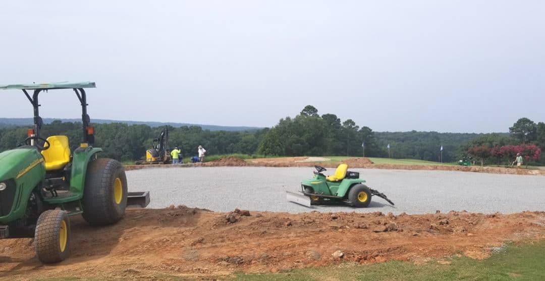 golf practice facility renovations
