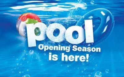 Pool Season is here!
